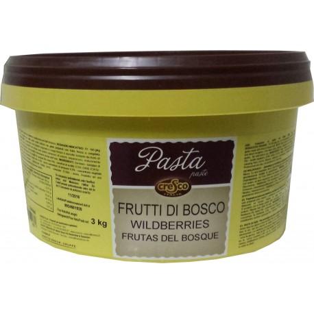 PASTA FRUTA FRUTAS DEL BOSQUE