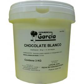 PASTA CHOCOLATE BLANCO 3 KG C.GARCIA