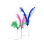 Plumas colores 12cm